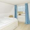 Leuchtturm-Zimmer / Schlafzimmer (Bad-en-suite) mit Blick aufs Meer